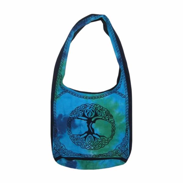 Blue-Green Tree Bag