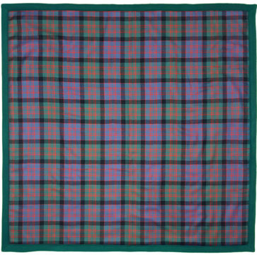 Light Weight Fleece Lined Tartan Baby Blankets