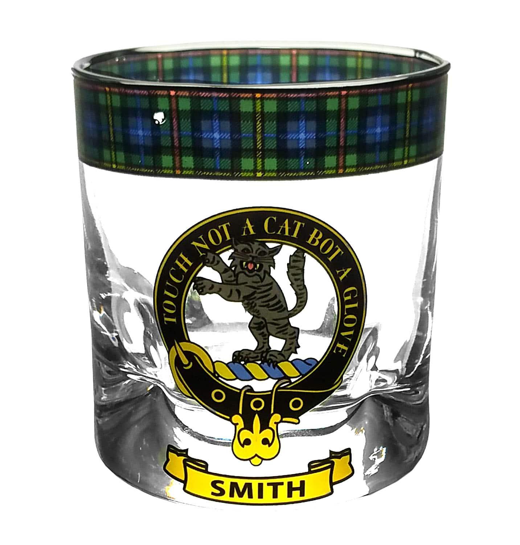 STCWG-CL-1767 Smith Tartan Whisky Glass