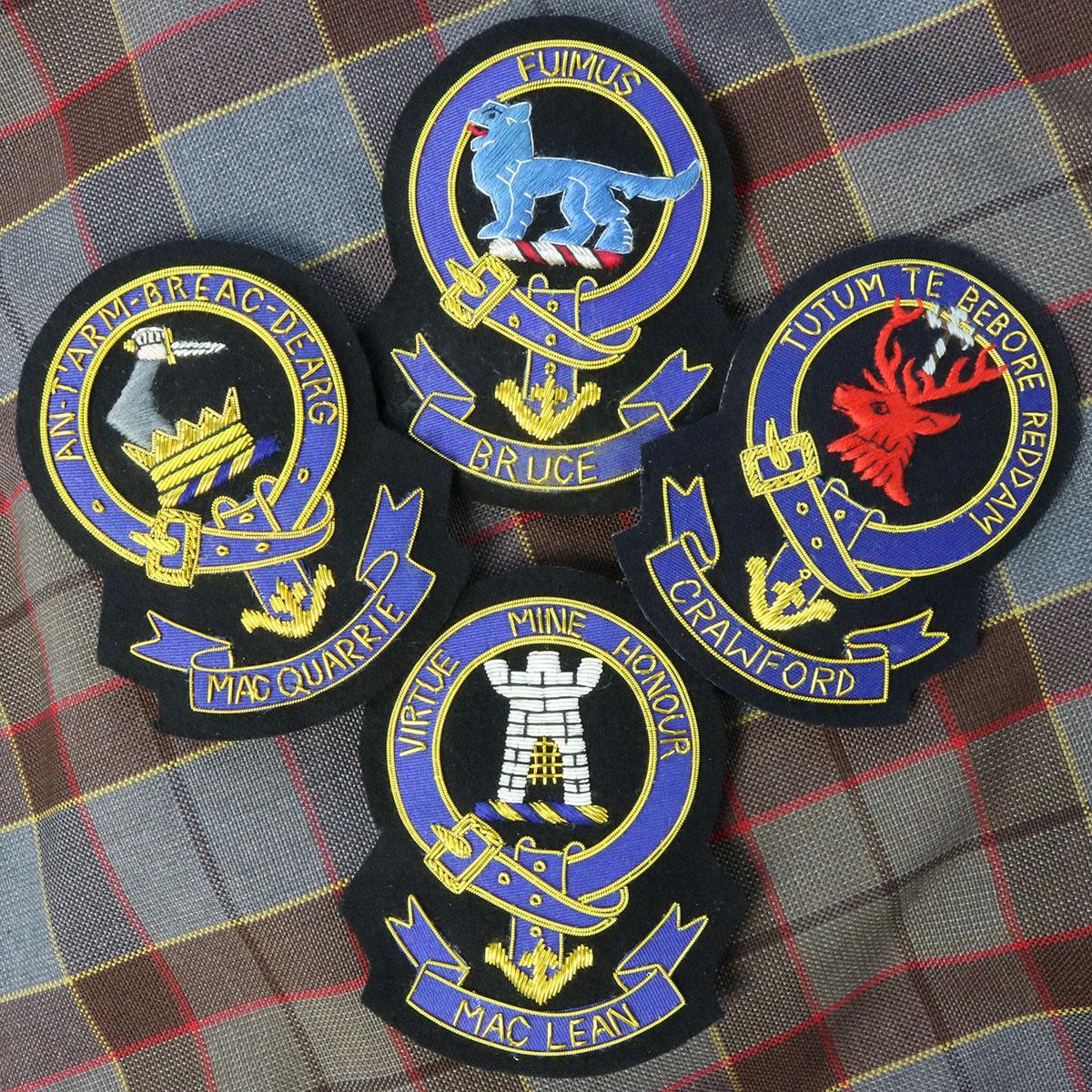 Christie Clan Crest Earrings