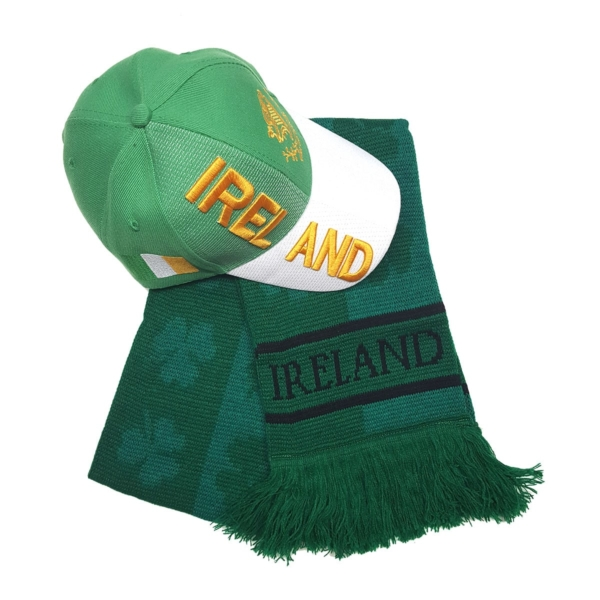 Ireland Cap and Scarf Bundle