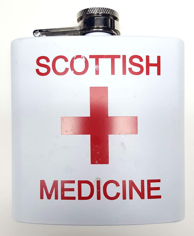 STSM-CL-1740 Scottish Medicine Flask
