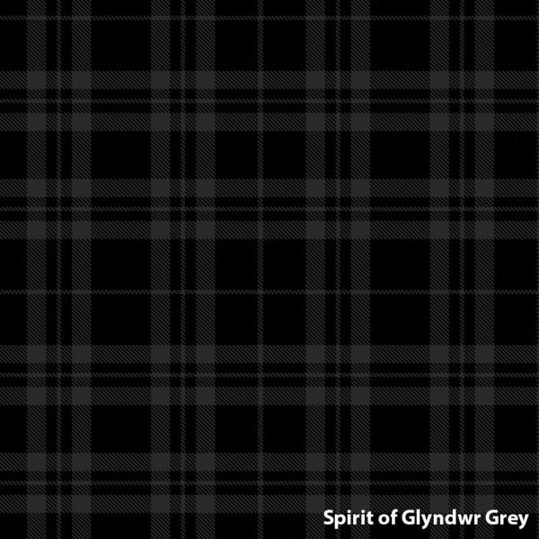 Spirit of Glyndwr Grey Welsh Tartan