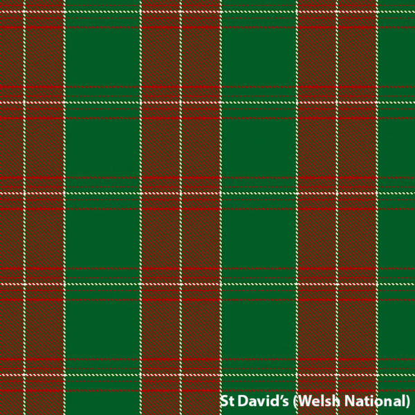 St David's / Welsh National Tartan