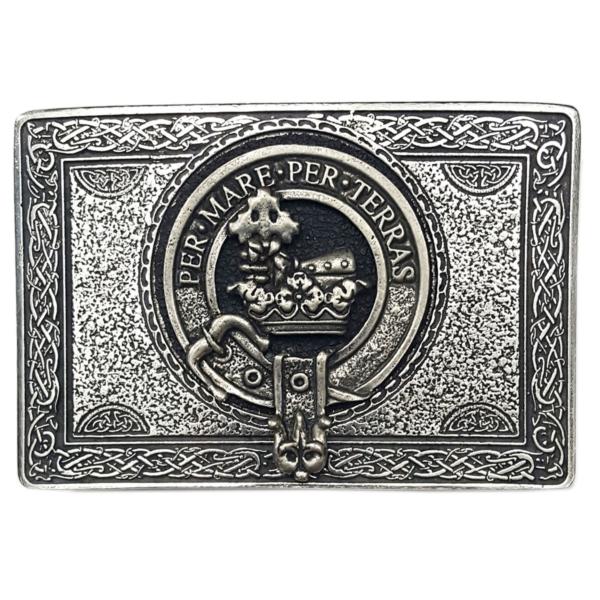 Clan Crest Kilt Belt Buckles