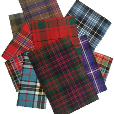 Assorted Tartan Craft Bag
