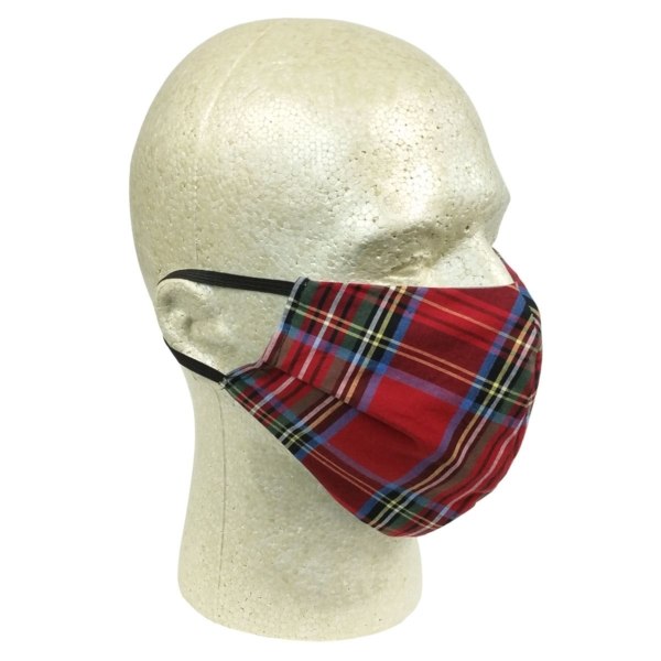 Stewart Royal Tartan Mask Fitted