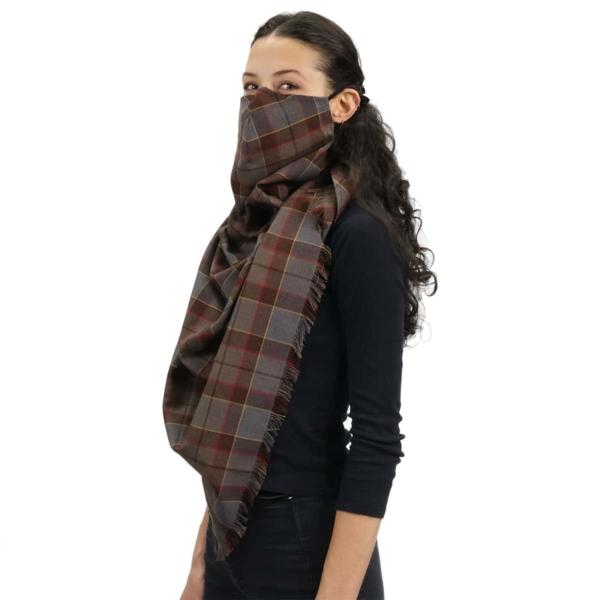 Outlander Fraser PV Scarf Mask