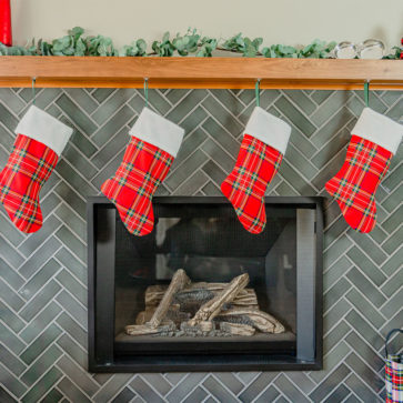 Tartan Christmas Stocking