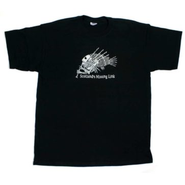 T-shirt Scotlands Missing Link