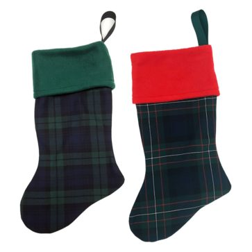 Tartan Christmas Stockings