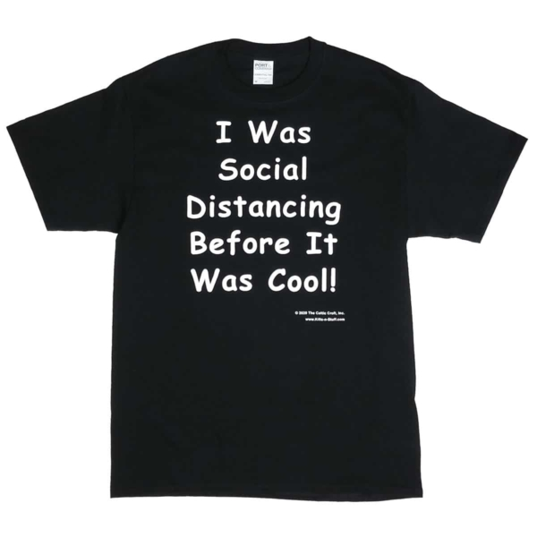 I was social distancing before it was cool!