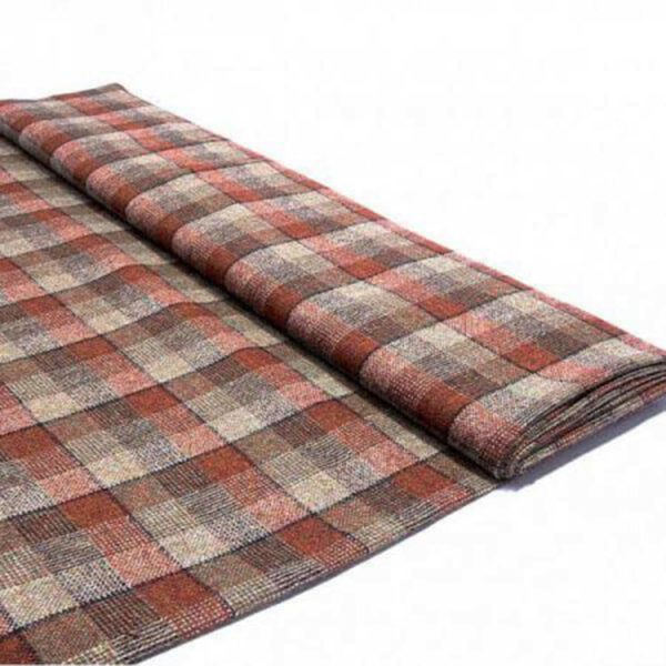 Braveheart tartan tweed fabric
