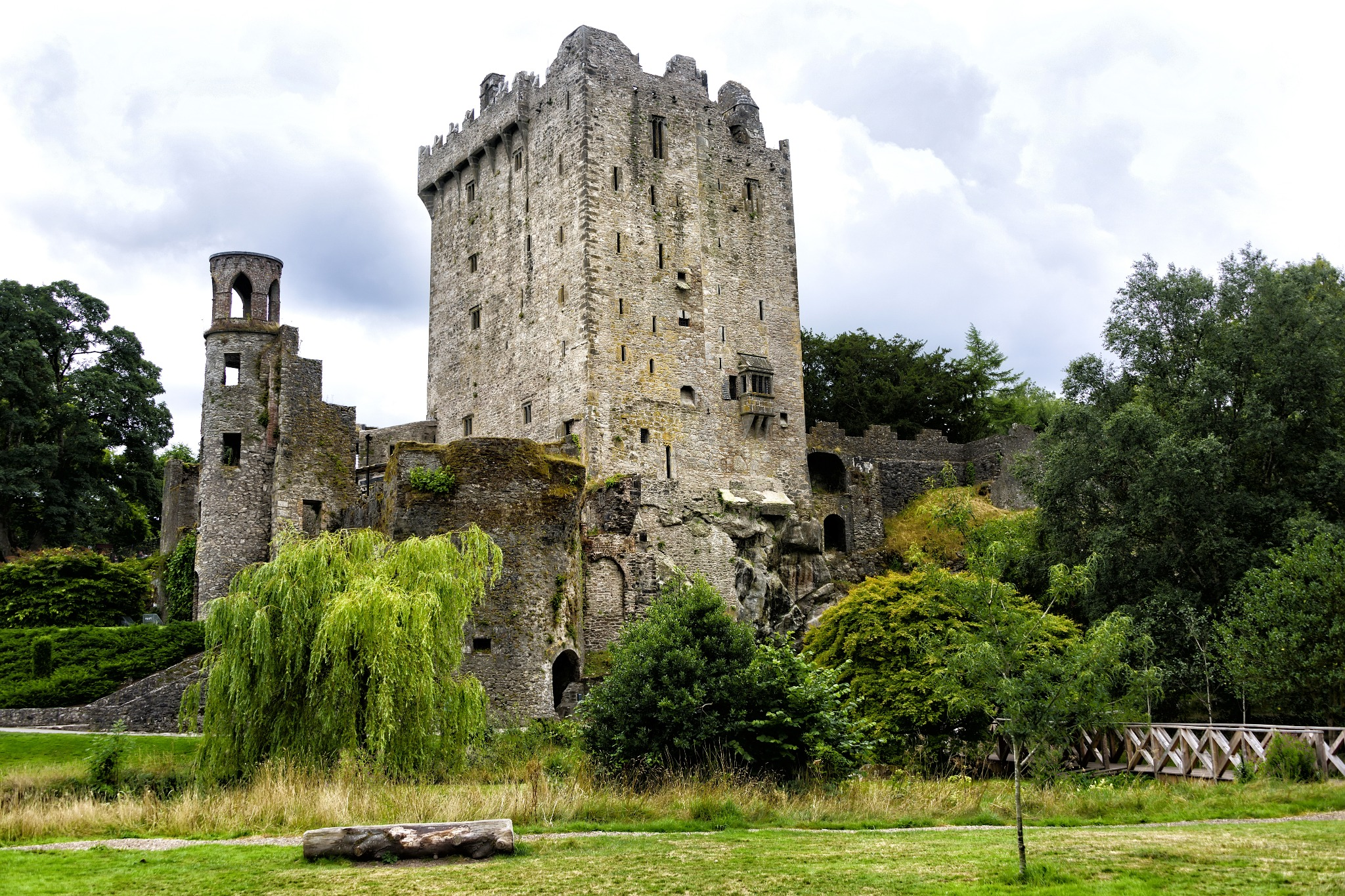 Blarney Castle is one of the many castles in Ireland.