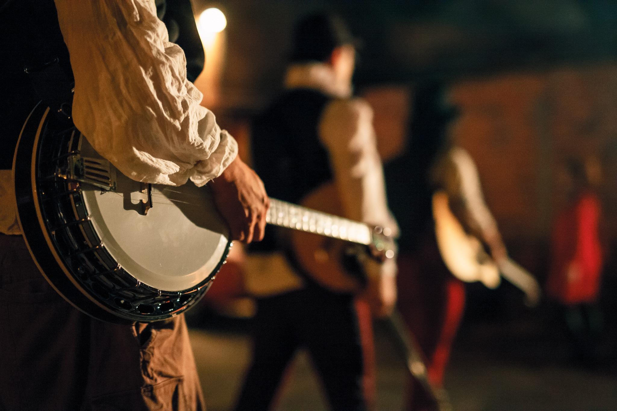 A Celtic stringed instrument.