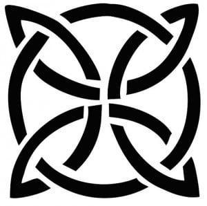 A Dara Celtic knot