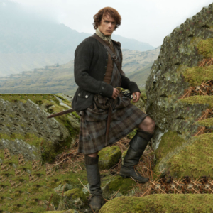 Jamie From Outlander Scottish Heritage