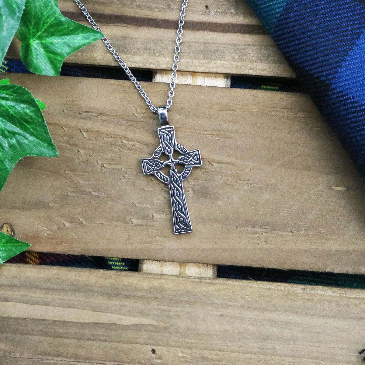Cross necklace pendant