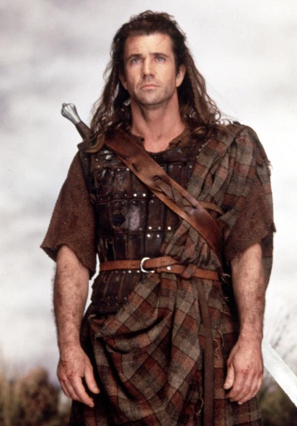 Mel Gibson Braveheart Ancient Kilt