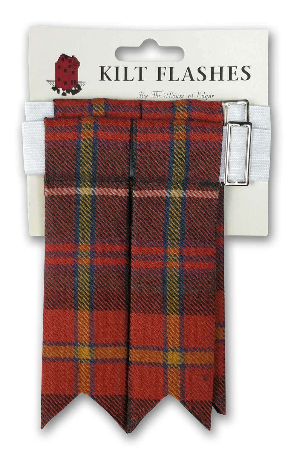 Poly-viscose kilt flashes from The Celtic Croft
