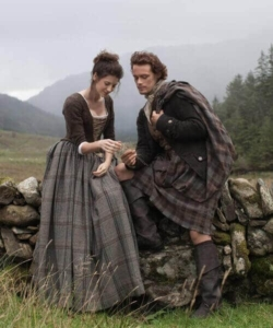 Claire and Jamie Fraser Product Image